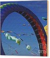 Go Fly A Kite 2 Wood Print