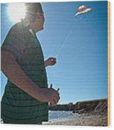 Go Fly A Kite Wood Print