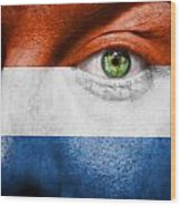Go Holland Wood Print