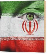 Go Iran Wood Print