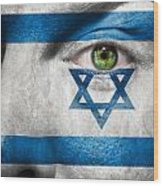Go Israel Wood Print