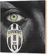 Go Juventus Wood Print
