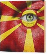 Go Macedonia Wood Print