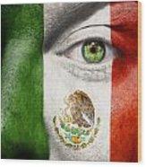 Go Mexico Wood Print