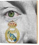 Go Real Madrid Wood Print
