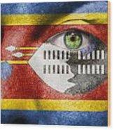 Go Swaziland Wood Print