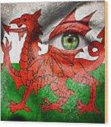 Go Wales Wood Print