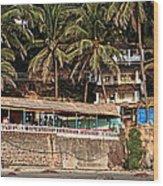 Goa Beach Wood Print by Oleksii Vovk