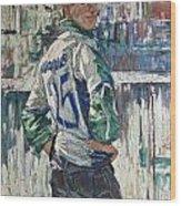 Goalkeeper Wood Print