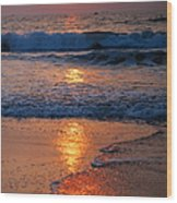 Goan Sunset. India Wood Print