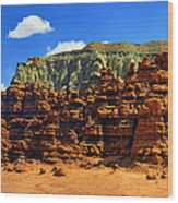 Goblin Valley Pano Wood Print