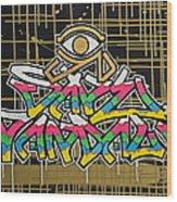 God Save Vandals Wood Print
