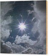 God External Wood Print