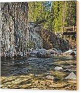 Goddard Canyon Wood Print