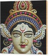 Goddess Durga Wood Print by Sayali Mahajan