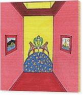 Goddess Hall To G.g. Bridge Wood Print