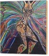 Goddess Of Cultural Fusion Wood Print