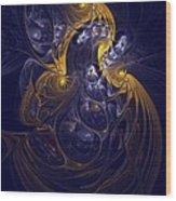 Goddess Of Healing Energy Wood Print