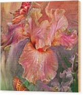 Goddess Of Spring Wood Print