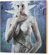 Goddess Of Water Wood Print
