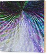 Goddess Stardust Creating Butterfly Wood Print