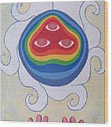 Goddess Wizard Wood Print