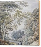 Godinton, Near Ashford, Kent Wood Print