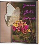 God's Beloved Wood Print