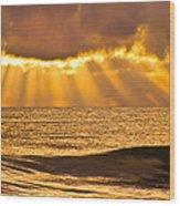 God's Eyelashes Wood Print