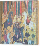 God's Horse Masters-the Deposition Wood Print