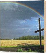 God's Promise Wood Print