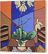 Gods Yellow Orchids Wood Print