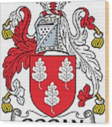 Gogan Coat Of Arms Irish Wood Print