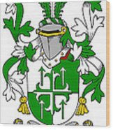 Gogarty Coat Of Arms Irish Wood Print