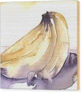 Going Bananas 1 Wood Print