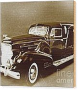 Going Out In Style Wood Print