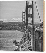 Going To San Francisco Wood Print