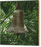 Gold Bell Wood Print