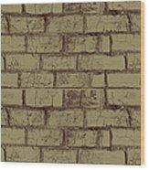 Gold Bricks Wood Print