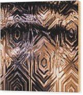 Gold Carving Wood Print