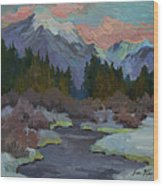 Gold Creek Snoqualmie Pass Wood Print
