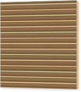Gold Golden Strips Stripes 36x12 Horizontal Landscape Energy Graphics Background Designs  And Color  Wood Print