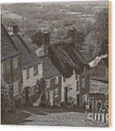 Gold Hill Wood Print
