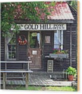 Gold Hill Post Office Wood Print
