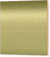 Gold Metallic 12 Wood Print