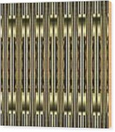 Gold Metallic 18 Wood Print
