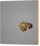 Gold Nugget Wood Print