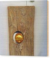 Gold  Orb Wood Print