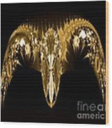 Golden Arches Wood Print