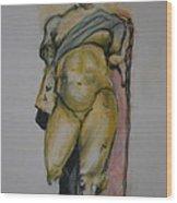 Golden Boy Wood Print